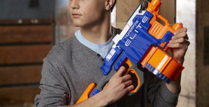 Alert Nerf N-Strike Elite HyperFire Blaster