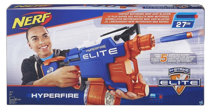 Best NERF Gun in the World Nerf N-Strike Elite HyperFire Blaster