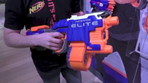 Best NERF War Ever Nerf N-Strike Elite HyperFire Blaster best deal