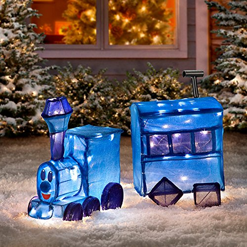 Rudolph Misfit Toy Train Christmas Yard Decoration