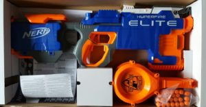 Unboxing The Best NERF Gun Nerf N-Strike Elite HyperFire Blaster