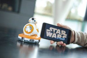 app controlled Sphero Star Wars BB-8 Droid