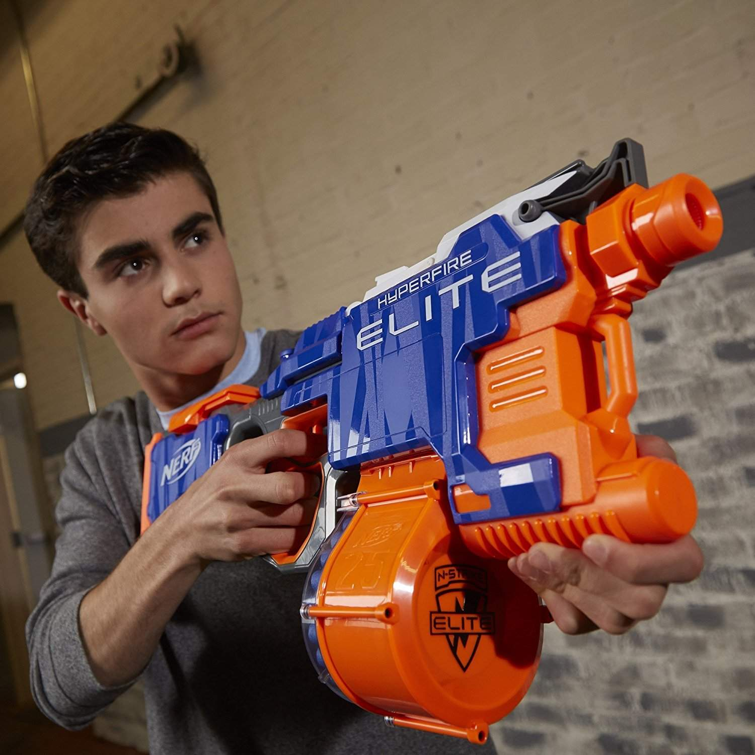 best nerf n strike elite gun Nerf N-Strike Elite HyperFire Blaster