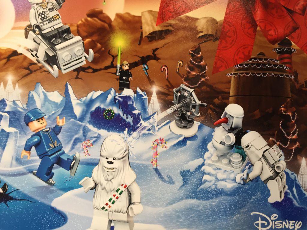closer look LEGO Star Wars 75146 Advent Calendar Building Kit