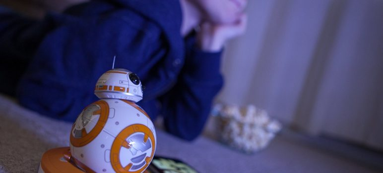friend with Sphero Star Wars BB-8 Droid