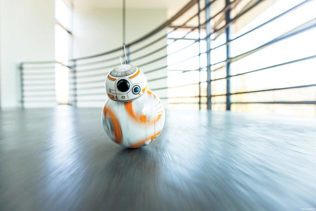 rolling hot toys Sphero Star Wars BB-8 Droid