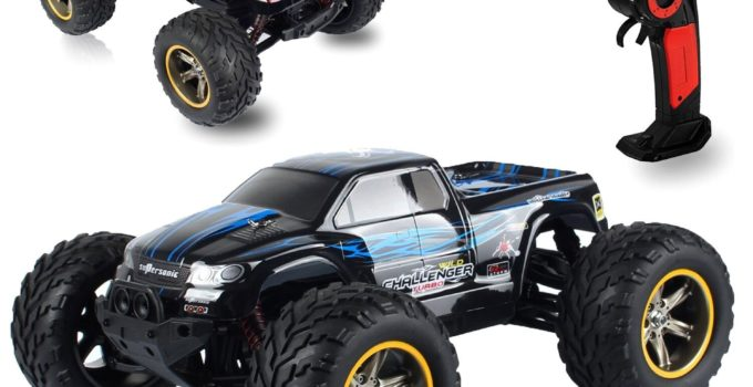AMOSTING S911 33MPH 2 4GHz 2WD Off Road Waterproof Monster RC Truck 1 12 Scale Review