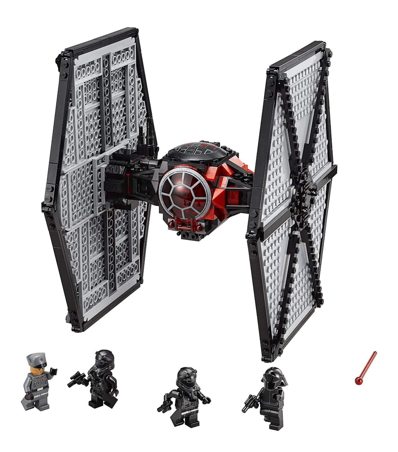 LEGO Star Wars 75101 First Order Special Forces Tie Fighter in Action