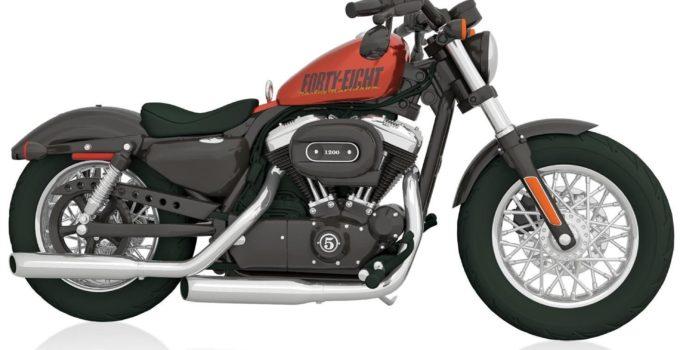 Harley-Davidson 2014 Sportster Forty-Eight Motorcycle Ornament 2015 Hallmark
