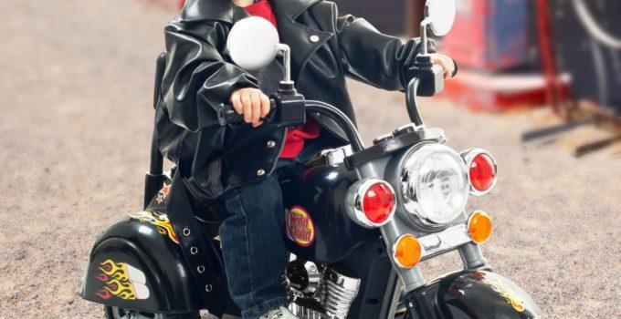 Lil' Rider Harley Style Wild Child Motorcycle - Black
