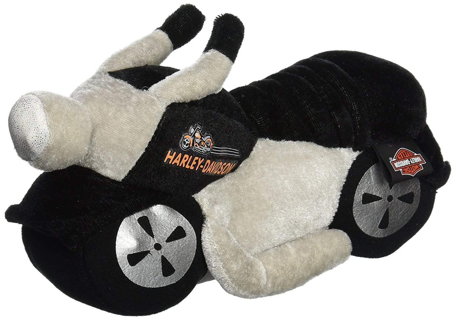 Sounds and Lights Motorcycle Plush Toy
