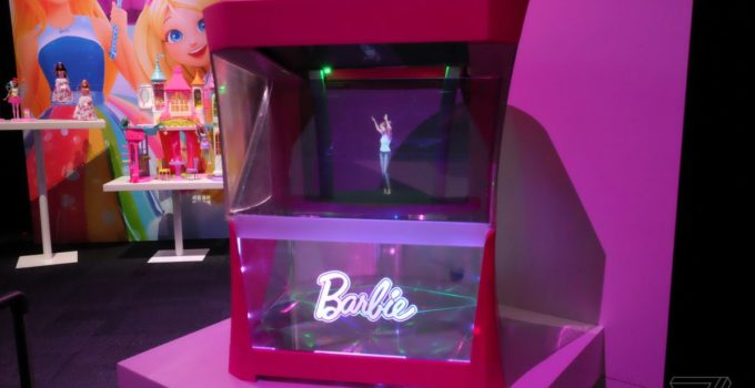 hello barbie hologram review