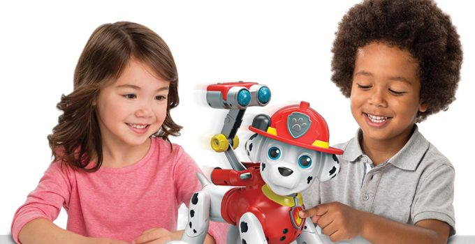 Interactive Paw Patrol Zoomer Marshall Toy Review