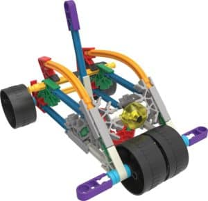 KNEX 10 Model Building Fun Set car