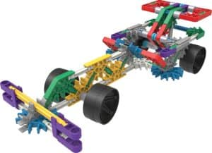KNEX 10 Model Building Fun Set race car