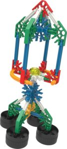 KNEX 10 Model Building Fun Set Rocket
