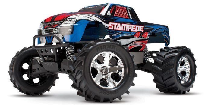 Traxxas Stampede 4X4 1-10 Scale 4wd Monster Truck review