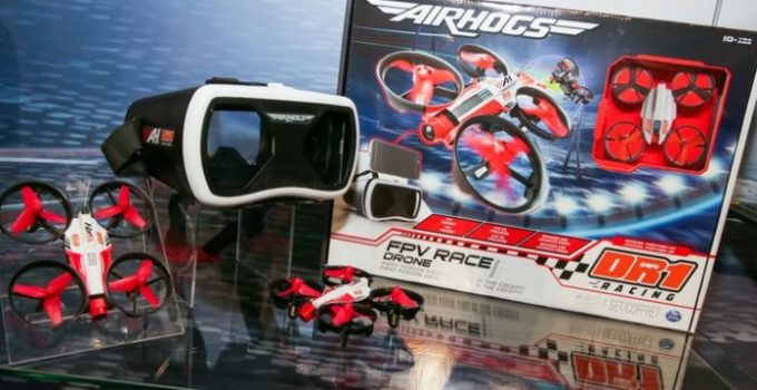 Air Hogs DR1 FPV Drone with Headset New 2017 Toys Reviw