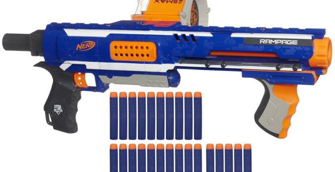 Nerf N-Strike Elite Rampage Blaster Review