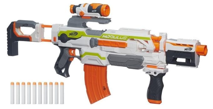 Girls Nerf Gun Rebelle Guardian Crossbow Guns with Collectable Darts Bullets