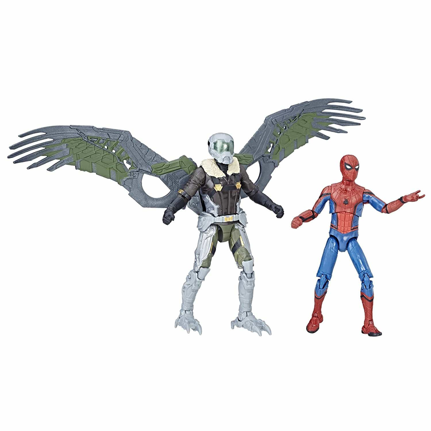 Spider-Man Homecoming Spider-Man - Vulture Action Figures
