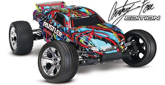 Traxxas Rustler Stadium Truck RTR Courtney Force Edition