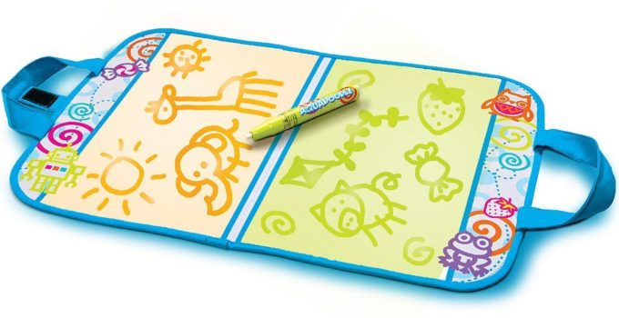 AquaDoodle Travel Doodle Top Arts Crafts Toddler Toys