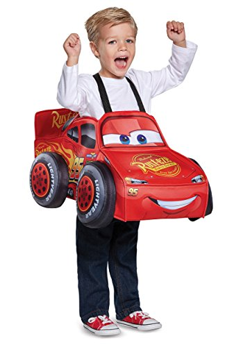 Disguise Lightning McQueen 3D Toddler Halloween Costume