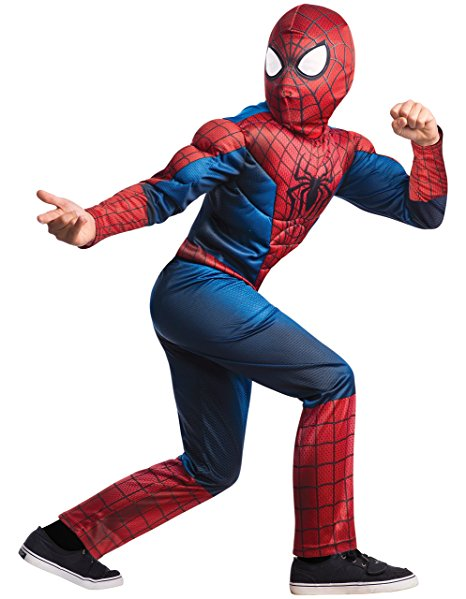 Amazing Spider-Man 2 Muscle Chest Costume for Kids