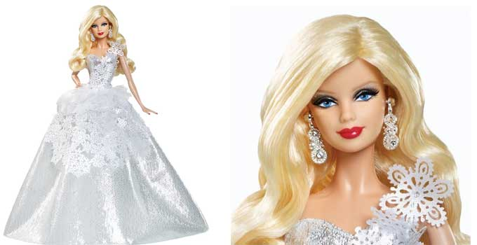 Barbie Collector 2013 Holiday Doll Review