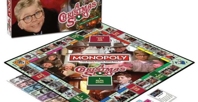 A Christmas Story Monopoly Game Review