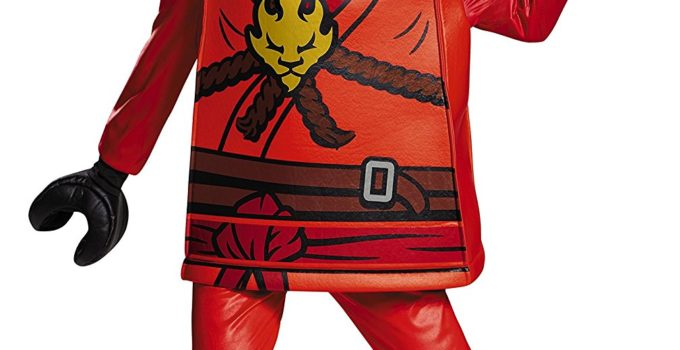 Kai Deluxe Ninjago LEGO Costume