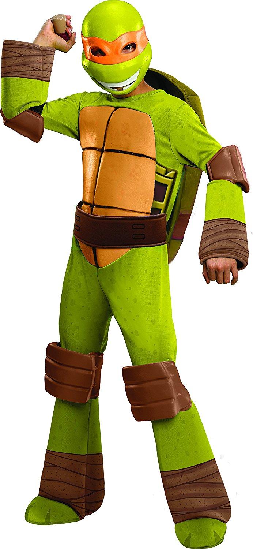 Teenage Mutant Ninja Turtles Deluxe Michelangelo Costume