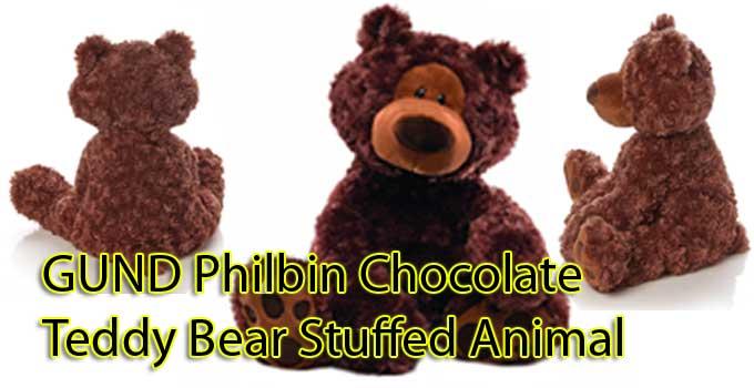 GUND Philbin Chocolate Teddy Bear Stuffed Animal 18 inches review