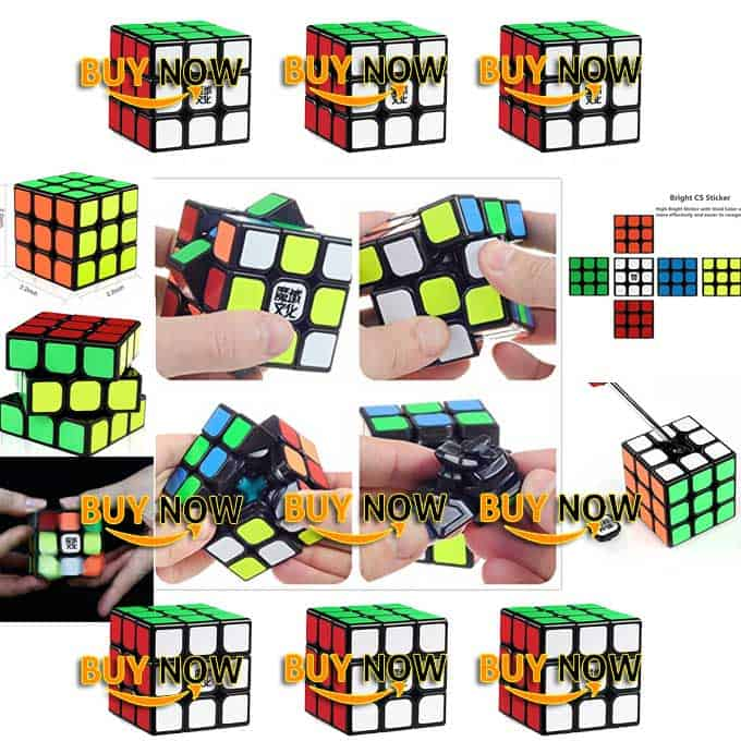 D-FantiX Moyu Aolong V2 3×3 Cube Puzzle Toy Review