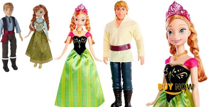 Disney Frozen Anna Kristoff Christmas Doll Review