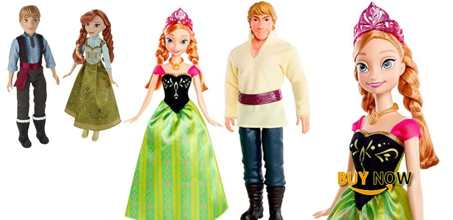 Disney Frozen Anna Kristoff Christmas Doll Review