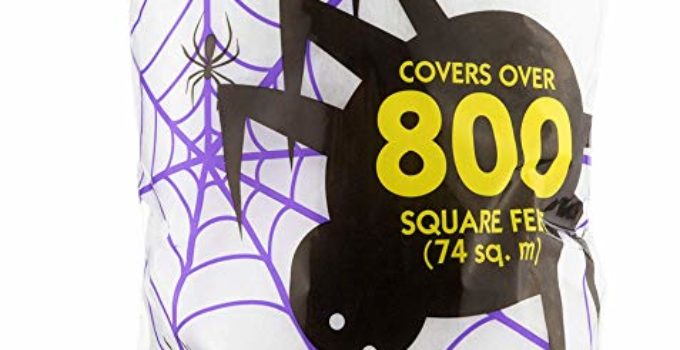 Fun World Super Stretch Spider Web for Halloween Outdoor Decoration
