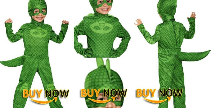 Gekko Classic Toddler PJ Masks Costume