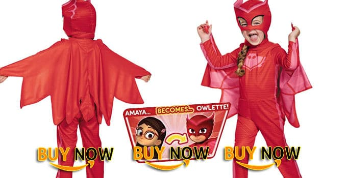 Owlette Classic Toddler PJ Masks Costume Review
