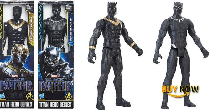 Black Panther Marvel 2-Pack Black Panther Erik Killmonger Super Hero Action Big Figure Set