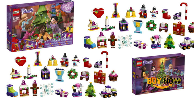Good Price For LEGO Friends 2018 Advent Calendar 41353