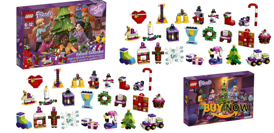Good Price For LEGO Friends 2018 Advent Calendar 41353