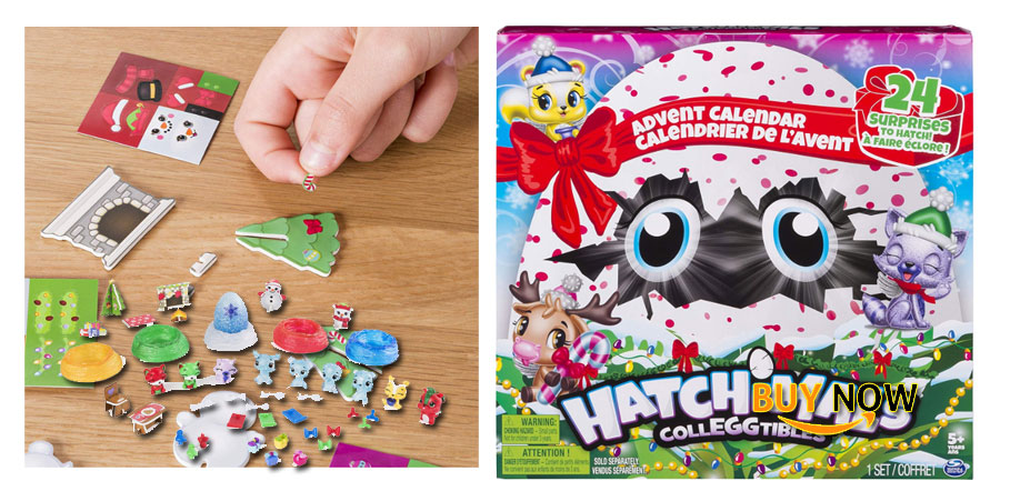 Hatchimals Colleggtibles - Advent Calendar with Exclusive Characters & Paper Craft Accessories