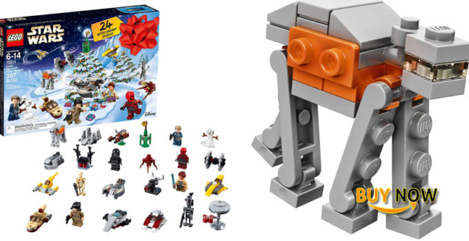 LEGO 6213564 Star Wars TM Advent Calendar, 75213, 2018 Edition, Minifigures, Small Building Toys, Christmas Countdown Calendar for Kids (307 Pieces)