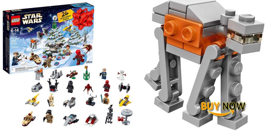 LEGO 6213564 Star Wars TM Advent Calendar, 75213, 2018 Edition, Minifigures, Small Building Toys, Christmas Countdown Calendar for Kids (307 Pieces)