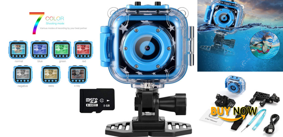 Ourlife Kids Waterproof Camera Video Recorder Review