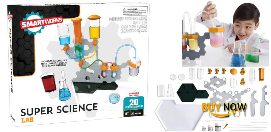 SMARTWORKS Super Science Lab Amazon Exclusive Review