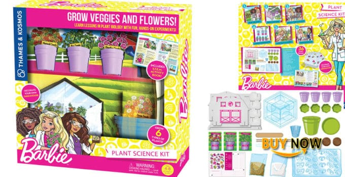 Thames & Kosmos Barbie Plant Science Kit Science Experiment Kit Product Review