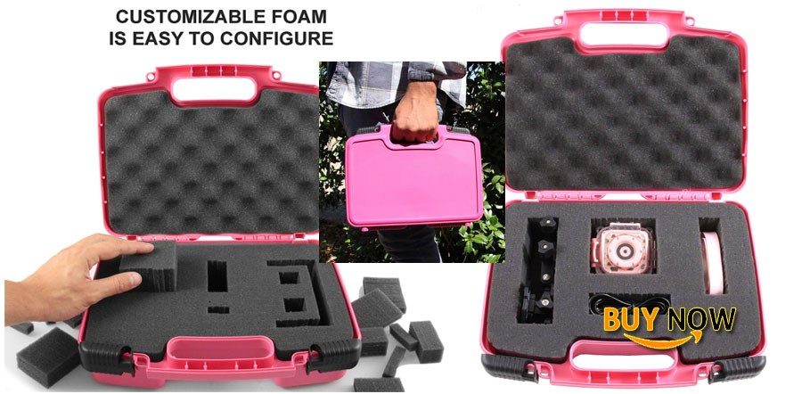 buy casematix kidcase pink kids waterproof camera case fits ourlife kids waterproof camera video camera for christmas